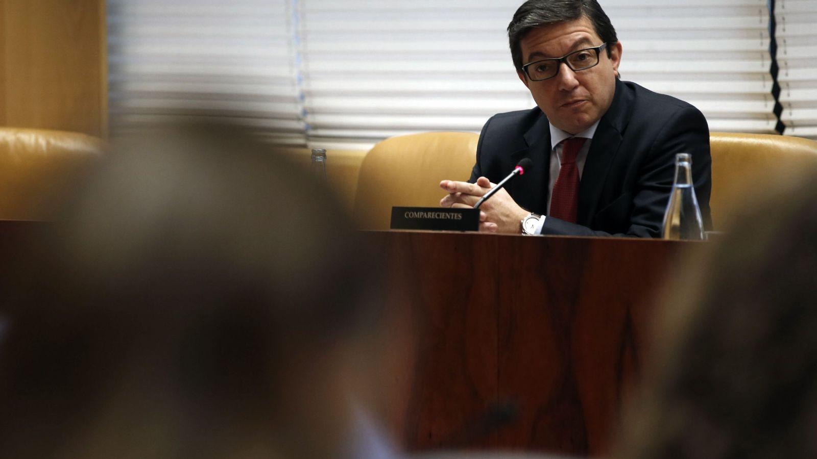 Foto: El expresidente del Canal de Isabel II Pedro Calvo. (EFE)