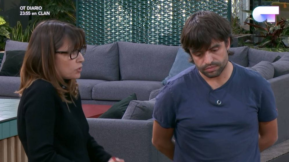 Foto: Noemí Galera y Manu Guix en 'Operación Triunfo'.