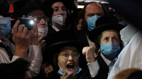 Los judíos ultraortodoxos protestan en NY contra las restricciones al comercio