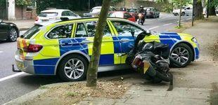 Post de La policía de Londres acaba con los ladrones en moto provocando accidentes