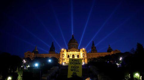 La jornada de protestas por la presencia del rey, en fotos