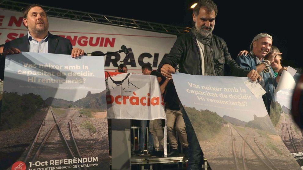Cuixart avisa a Junqueras si no se cumplen plazos: La CUP se pondrá como una moto