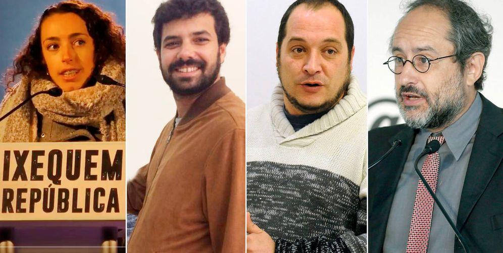 Foto: Helena Vázquez, Rubén Wagensberg, David Fernández y Antonio Baños. (EC)