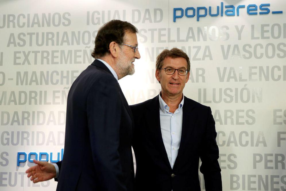 Foto: Mariano Rajoy y Alberto Núñez Feijóo en una imagen de archivo. (Reuters)