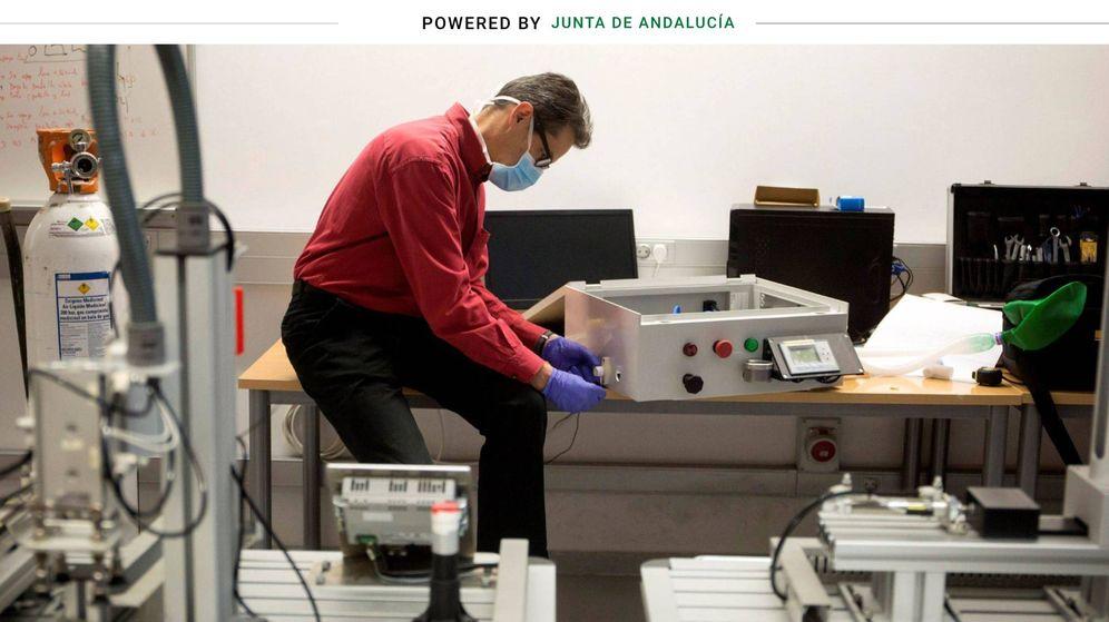 Foto: 'Andalucía respira' en su primera fase de prototipo. (EFE)