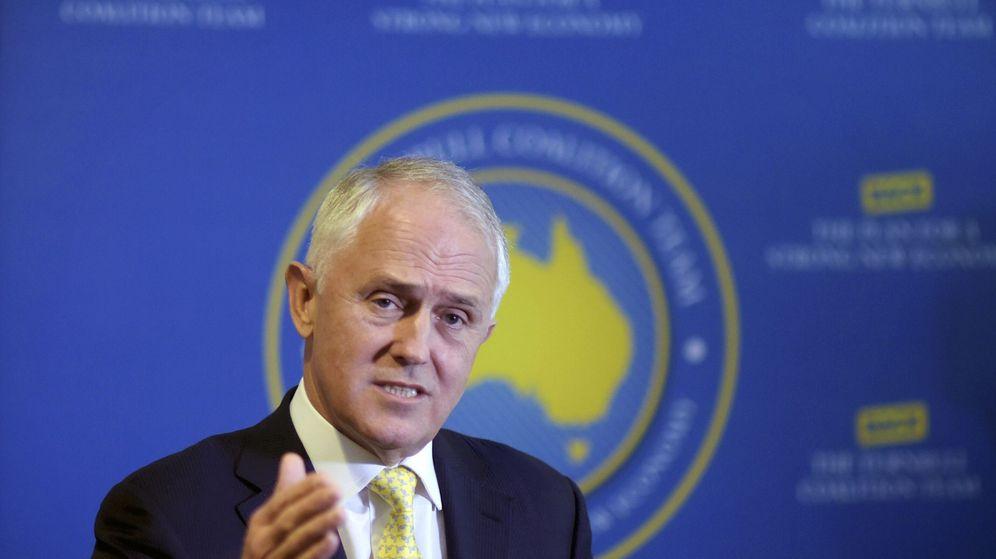 Foto: El primer ministro australiano, Malcolm Turnbull, aparece vinculado a los papeles de Panamá (Efe).