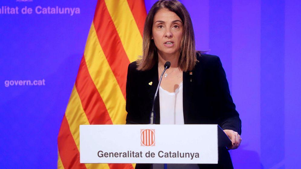Foto: La portavoz del gobierno catalán, Meritxell Budó. (EFE)
