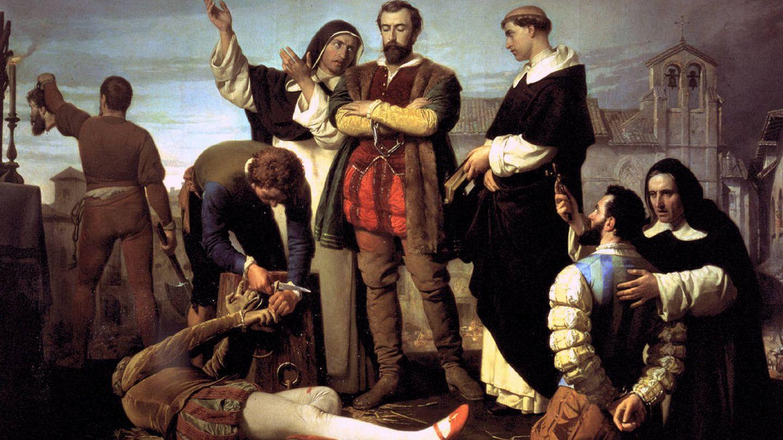 'La ejecución de los comuneros de Castilla', de Antonio Gisbert (1860).