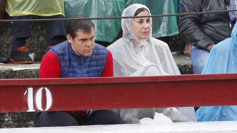 A falta de novio, Carmen Martínez-Bordiú se lleva a su hijo a los toros