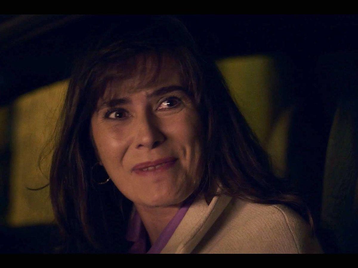 Foto: Anna Allen como Marta Altamira en 'Cuéntame cómo pasó'. (RTVE)