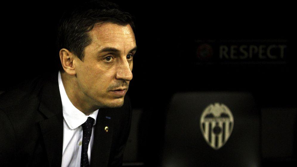 Foto: Así es Gary Neville, el nuevo entrenador del Valencia (Efe).