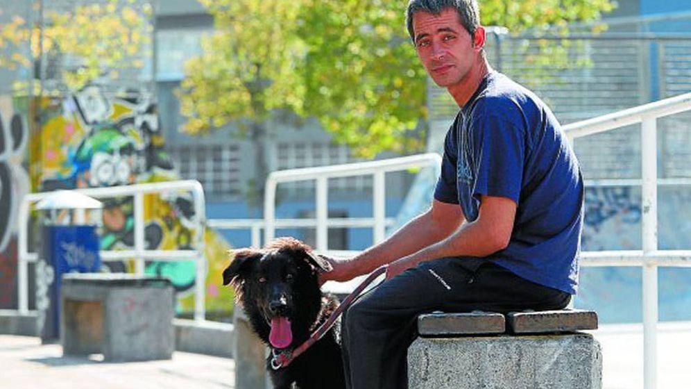 Foto: Rubén, el sin techo al que la Real Sociedad ha dado trabajo