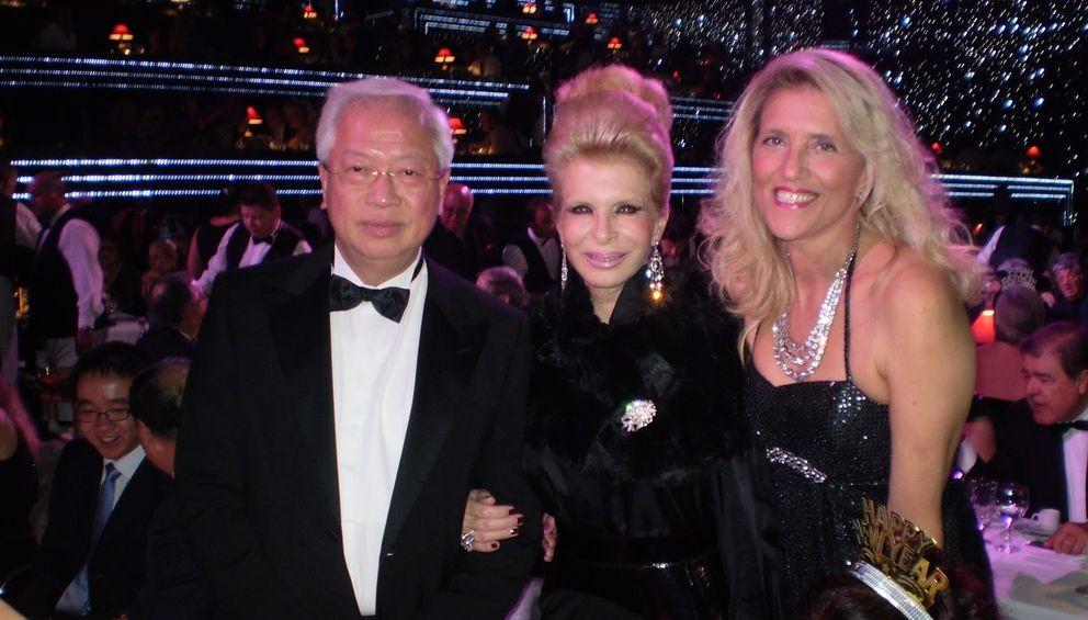 Choi Man Hin en la fiesta de año nuevo del Casino de Estoril (inparties.blogspot.com).