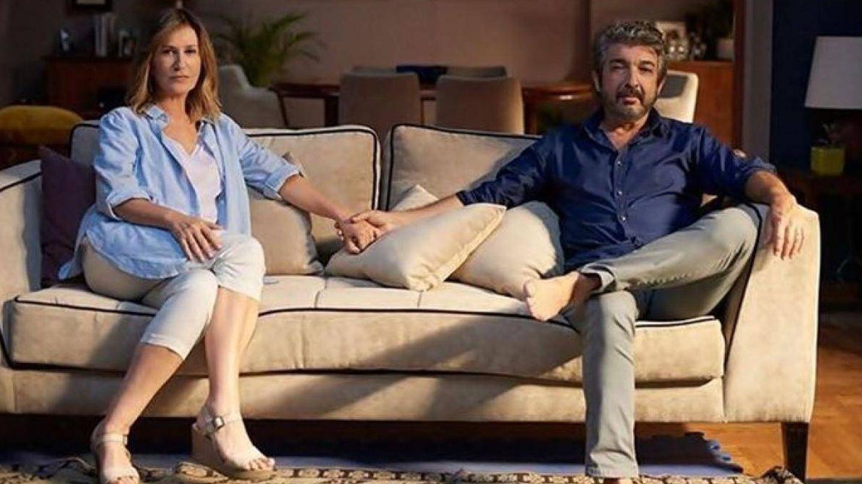 Mercedes Morán y Ricardo Darín en 'El amor menos pensado'.