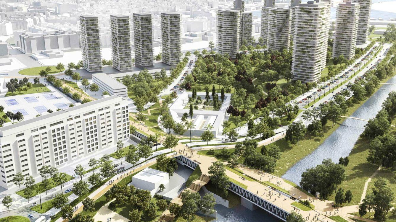 Así será el PAI del Grao, el nuevo barrio que sustituirá al circuito de Fórmula 1 en Valencia