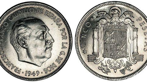 Franco modificó las pesetas de los años 40 para salir más guapo