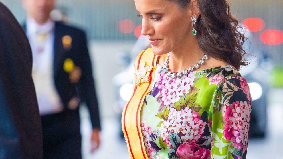 Carmen Lomana se viste de Letizia: así lleva el vestido floreado de Japón