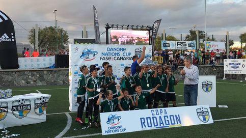 Así fue en Canarias la Danone Nations Cup, la mayor competición para niños
