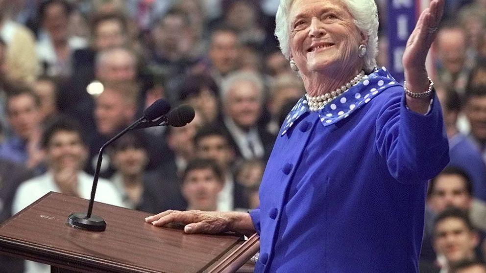 Muere Bárbara Bush: te explicamos por qué la llamaban Bárbara Blue en ocho fotos
