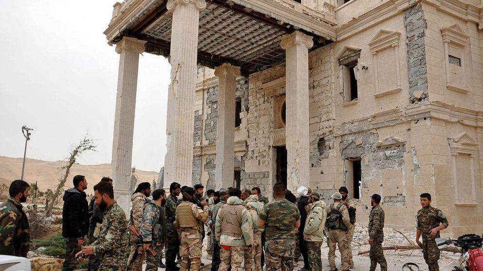 El Ejército sirio arrebata al ISIS el control dela ciudadela de Palmira