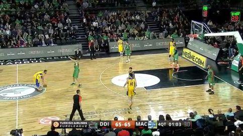 El vergonzoso final de partido entre el Maccabi y el Darussafaka en la Euroliga
