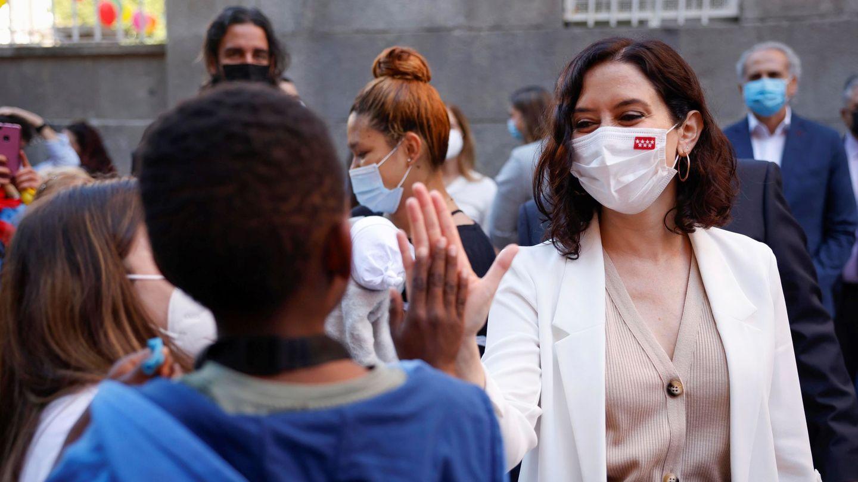 Isabel Díaz Ayuso, en una imagen de archivo. (EFE)