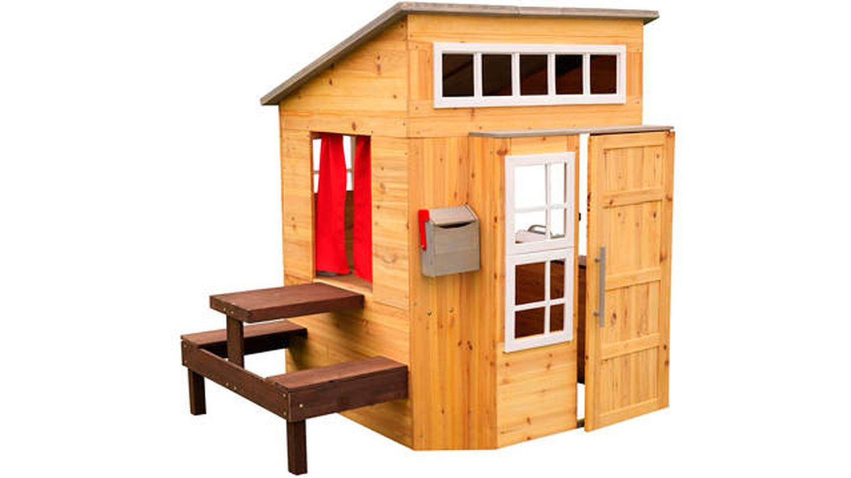 Casita de madera de jardín para niños Kidkraft
