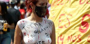 Post de Del fusil al megáfono: FARC se reivindica en unas protestas que dejan tocado al uribismo