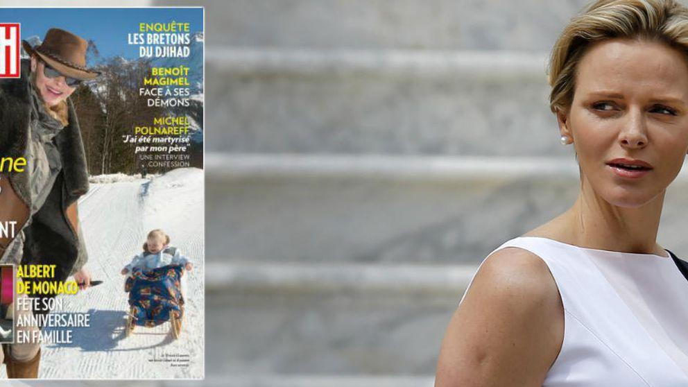 Charlène abandona Mónaco de nuevo (y ya hemos perdido la cuenta) para irse a Suiza