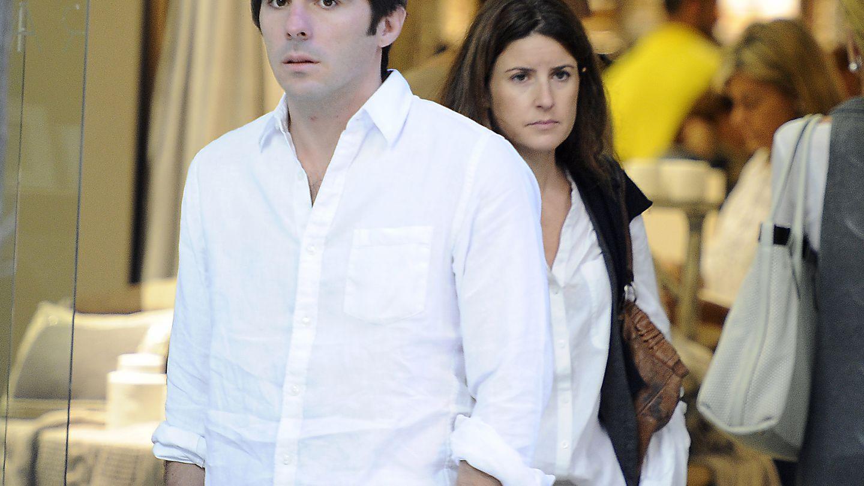 José María Aznar Junior y su esposa, Mónica Abascal, en una imagen de archivo (I.C.)