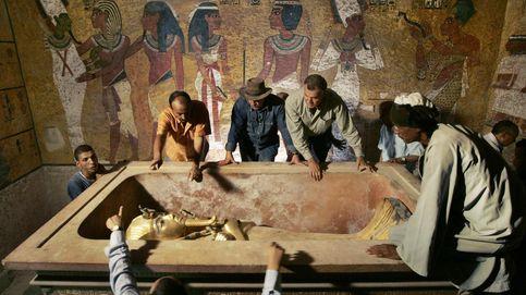 Un estudio con radar desvela dos cámaras en la tumba de Tutankamón