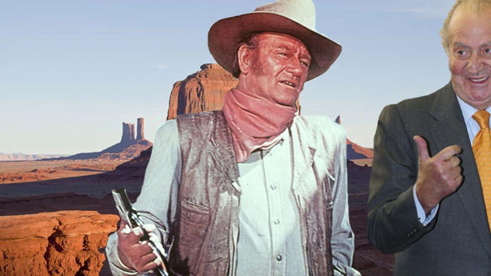 El día que el Rey Juan Carlos conoció a John Wayne