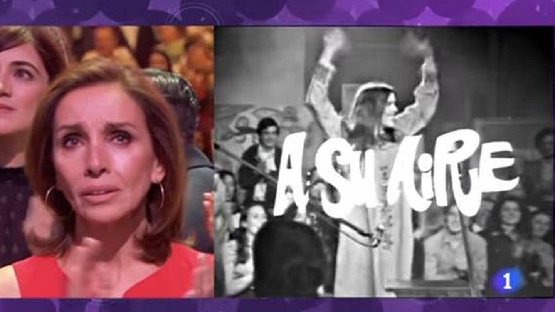 Ana Belén, en el concierto 'Mi querida Cecilia'. (RTVE)