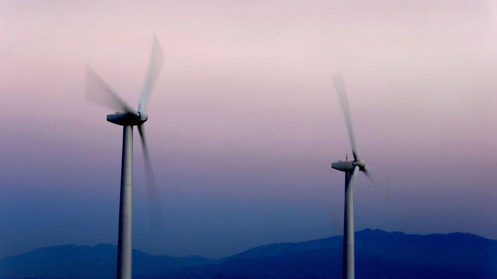 Foto: Turbinas eólicas. (EFE)