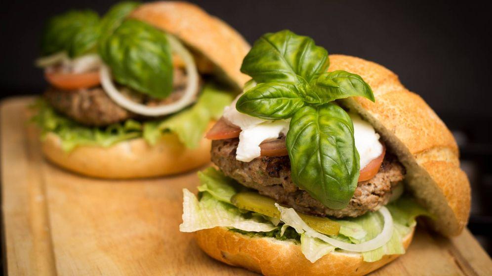 Foto: La hamburguesa no tiene por qué ser una opción de alimentación poco saludable.