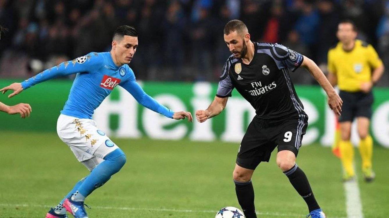 Foto: El Real Madrid se impone por 1-3 al Nápoles y logra pasar a cuartos de final de la Champions