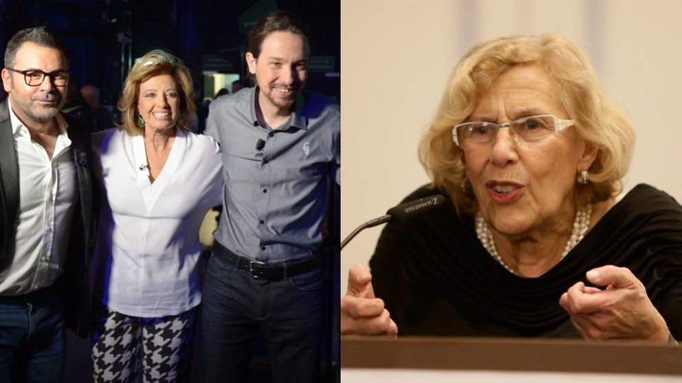Jorge Javier Vázquez se declara fan incondicional de Manuela Carmena