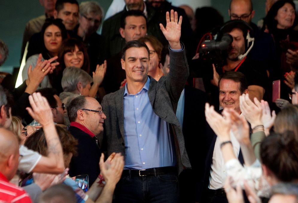 Foto: Pedro Sánchez, en un acto en Vigo. (EFE)