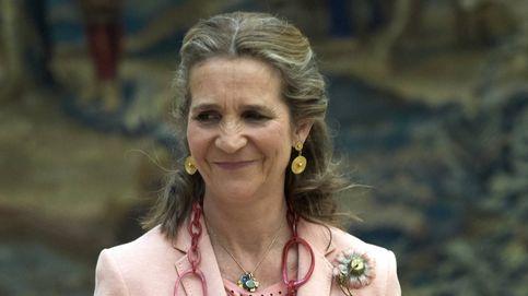 La infanta Elena viajó a Abu Dabi para visitar a Juan Carlos I en una fecha especial