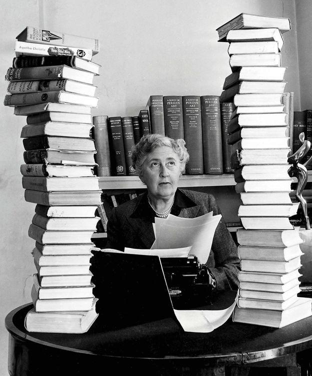 Foto: La escritora británica Agatha Christie.