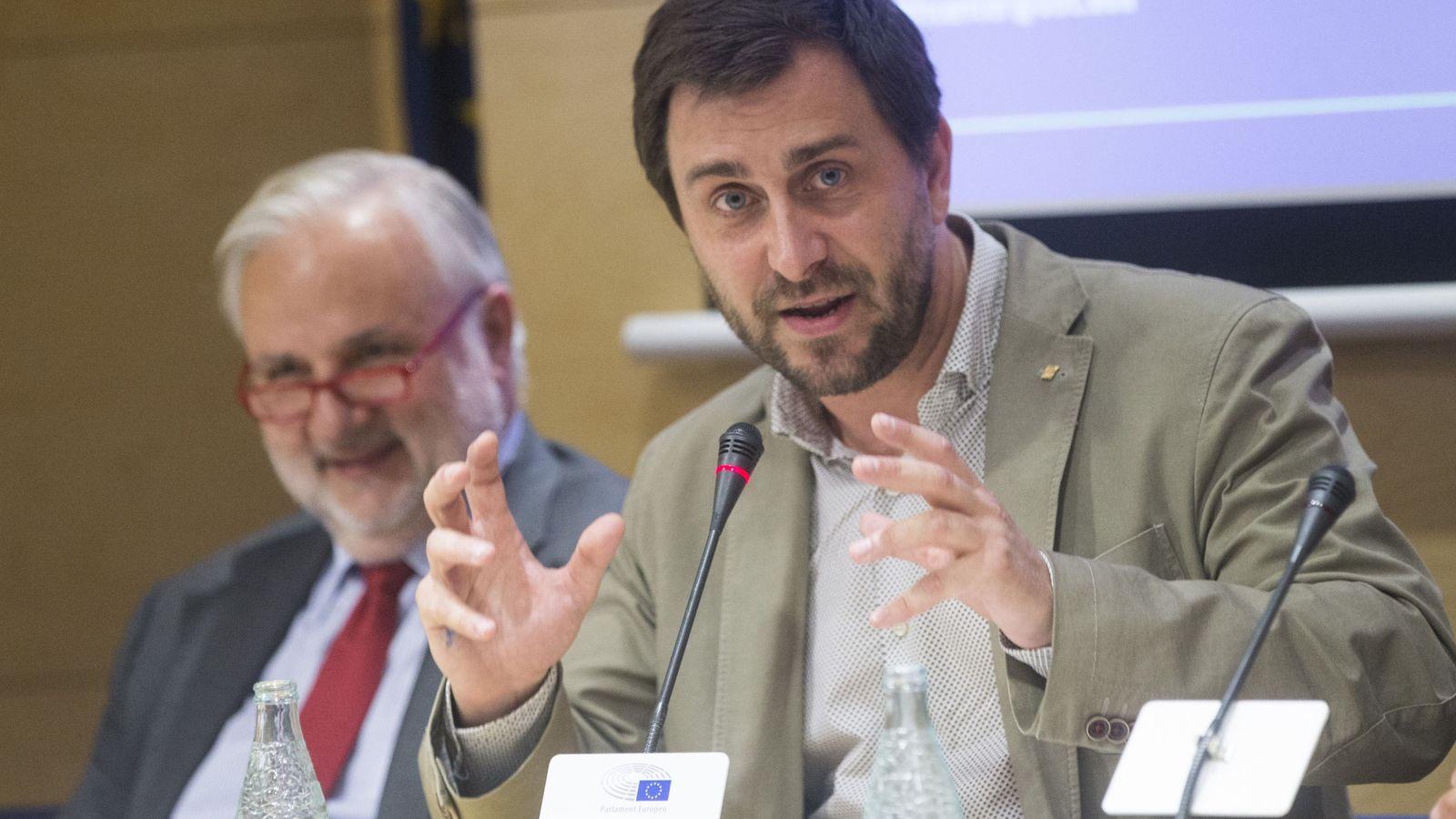 Foto: El exconsejero de Salud de la Generalitat Toni Comín, en una imagen de archivo. (EFE)