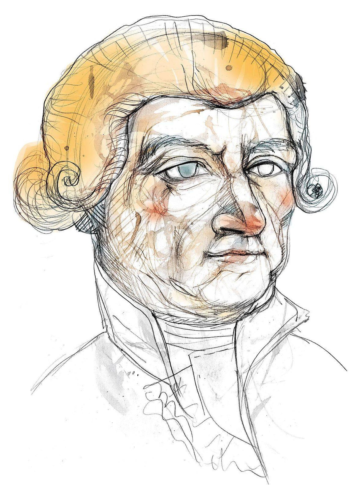 Uno de los pocos retratos que se conservan de Francisco Santponç (Foto: Wikimedia Commons)