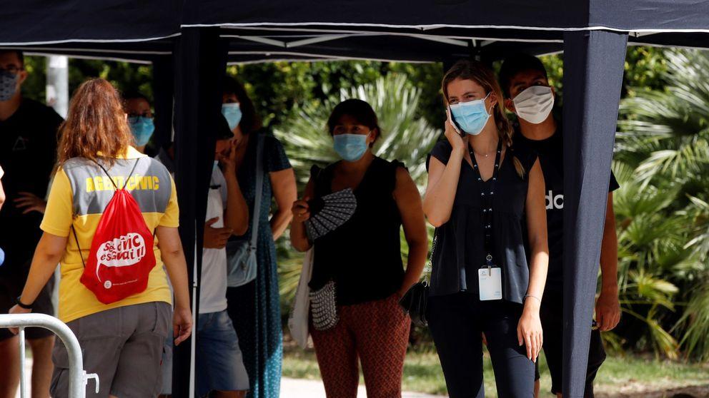 Los contagios continúan disparados y Sanidad suma 8.148 más, 3.650 en 24 horas