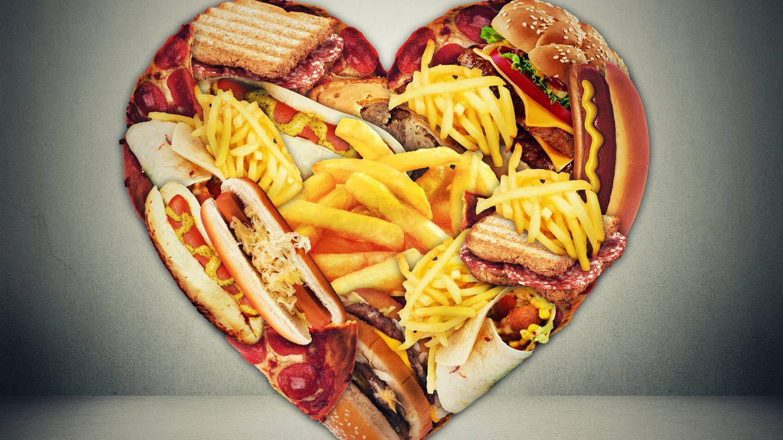 Foto: Comida nada saludable. (iStock)