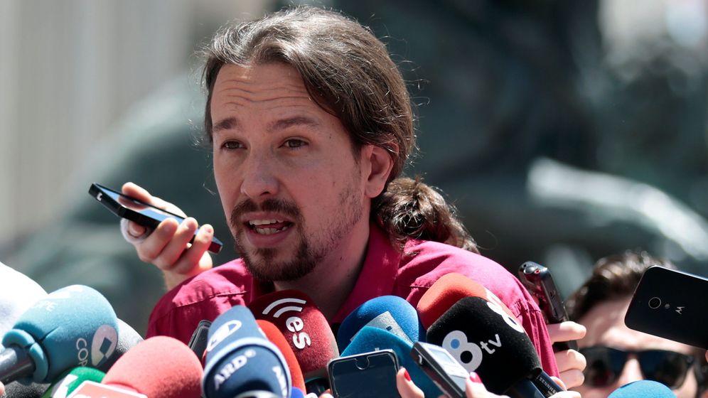 Foto: Pablo Iglesias es el escorpión y los socialistas no vamos a ser la rana del cuento