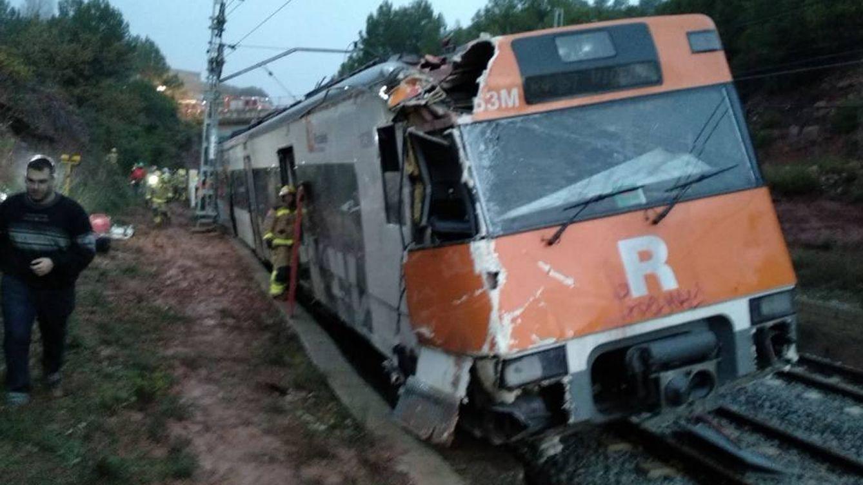 Descarrila sin heridos un tren de Rodalies entre Planoles y la Molina (Girona)