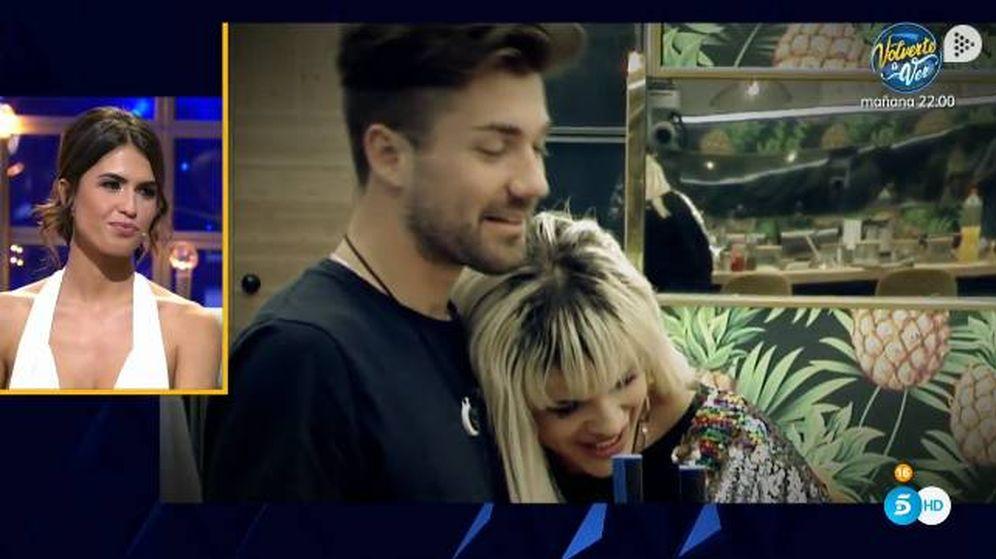 Foto: Sofía carga contra Alejandro por su acercamiento con Ylenia en 'GH Dúo'. (Telecinco)