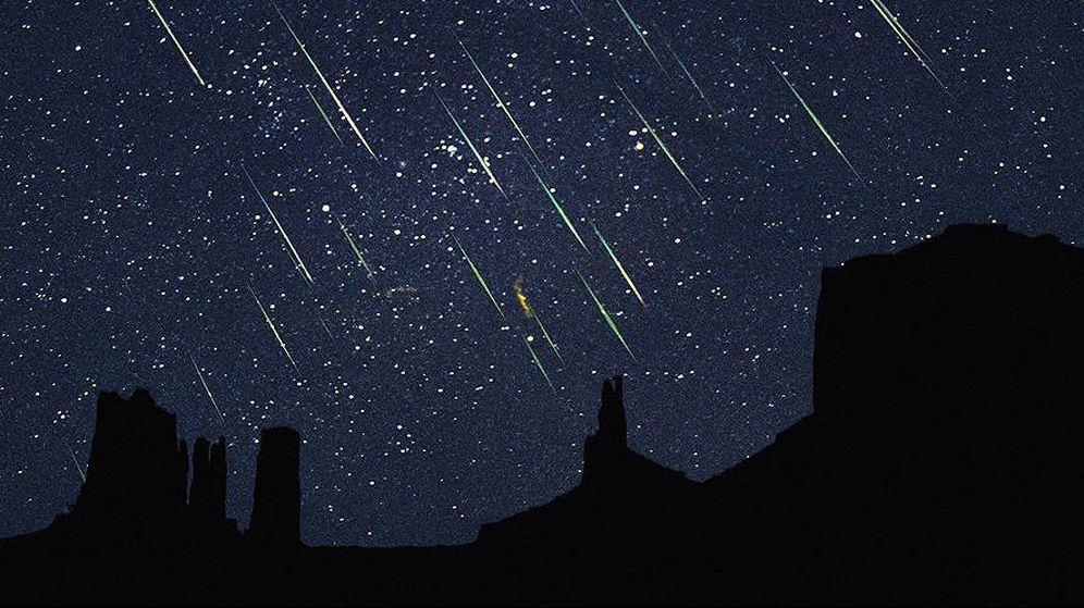 Foto: Esta noche y mañana por la noche viviremos la primera lluvia de estrellas. (EC)