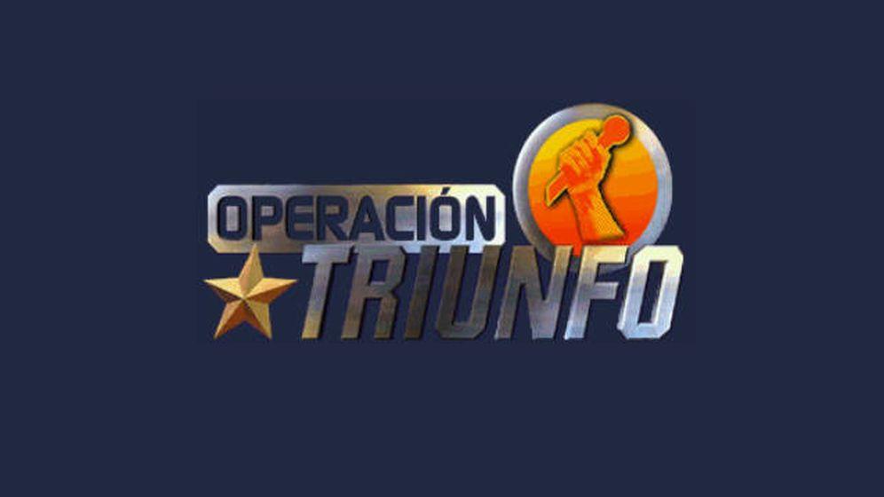 Foto: Logotipo de las primeras ediciones de 'Operación triunfo', emitidas por TVE