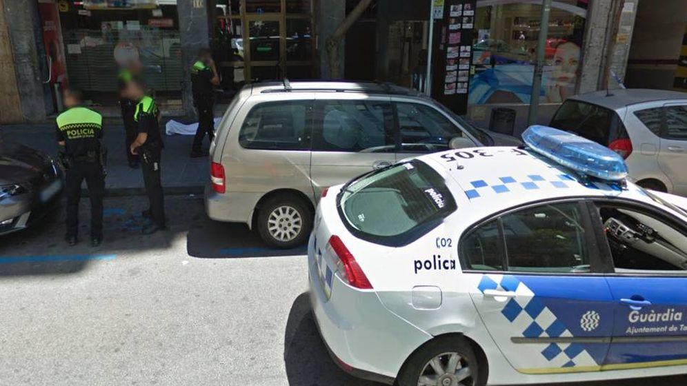 Foto: La calle Pere Martell de Tarragona, captada por las cámaras de Google Maps (Street View)